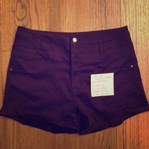 Refuge Wine Colored Denim Size 12